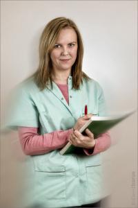 fotografia - Monika Standera - sekretarka medyczna