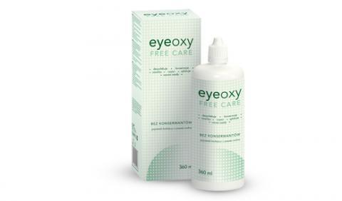 Płyn do pielęgnacji soczewek kontaktowych Eyeoxy Free Care bez konserwantów
