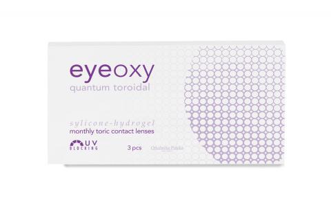 Soczewki miesięczne Eyeoxy Quantum Toroidal