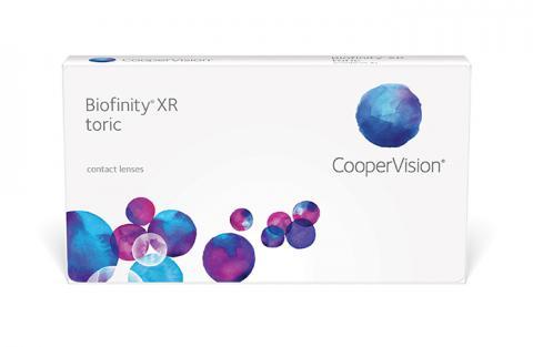 Soczewki kontaktowe Biofinity XR Toric